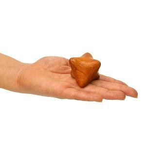 ツボ押し マッサージキューブ 木製 直径6cm 単品 タイ雑貨 バリ アジアン雑貨 健康グッズ|angkasa
