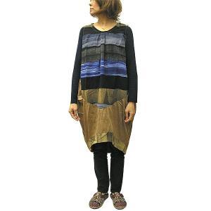 レディース チュニック ワンピース ブラウス エスニックシャツ [着丈約100cm] おしゃれな チュニック ワンピース アジアンファッション アジアン雑貨 タイ|angkasa