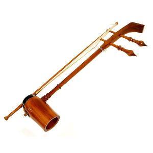 アジアの楽器 ソー・ドゥアン[Saw duang]タイ民族楽器 アジアン雑貨 タイ雑貨 angkasa