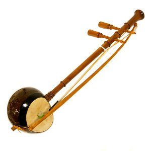 アジアの楽器 ソー・ウー [Saw u]タイ民族楽器 アジアン雑貨 タイ雑貨 angkasa