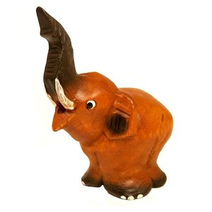 アジアの楽器 幸運の象さんの笛 置物 アジアン雑貨 バリ雑貨 アジアの楽器  angkasa