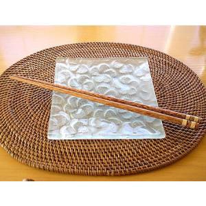 ココナッツのお箸C[24cm] アジアン雑貨 バリ雑貨 エスニック 変わったおはし angkasa