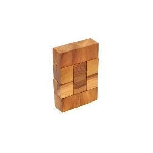 寄木細工のパズル <長方形> 難易度3 アジアン雑貨 バリ雑貨 angkasa