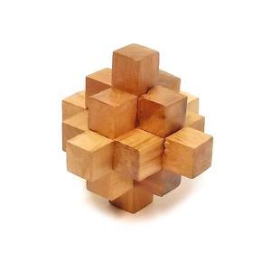 寄木細工のパズル<キューブ型> 難易度4 アジアン雑貨 バリ雑貨 angkasa