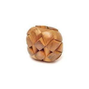 寄木細工のパズル <楕円型> 難易度3 アジアン雑貨 バリ雑貨 angkasa