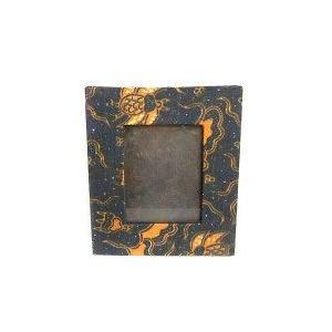 アジアン雑貨 バリ雑貨 バティックの写真立て Sサイズ B フォトフレーム【送料無料】|angkasa