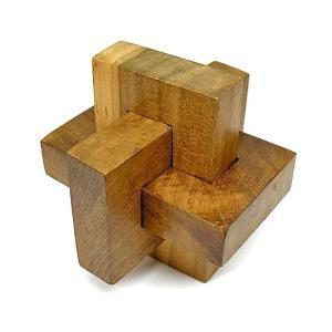 寄木細工のパズル<輪っか型>難易度2 アジアン雑貨 バリ雑貨 angkasa