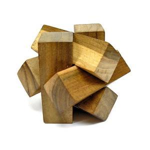 寄木細工のパズル<六芒星型> 難易度4 アジアン雑貨 バリ雑貨 angkasa