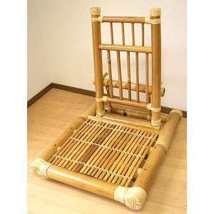 アジアン家具 アジアン雑貨 バンブーの座椅子 折りたたみ式|angkasa
