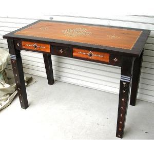 アジアン家具 アジアン雑貨 バリ家具 ロンボク チークのコンソールテーブル|angkasa