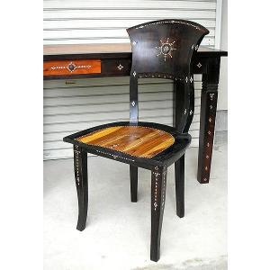 アジアン家具 アジアン雑貨 ロンボク チークの椅子 アンティーク調|angkasa
