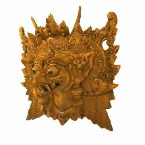 木彫りの『ガルーダ』[横20cmx縦20cm] アジアン雑貨 バリ雑貨|angkasa