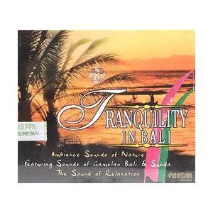癒しのバリミュージックCD 『TRANQUILITY IN BALI』 バリ雑貨 アジアン雑貨 スパCD angkasa