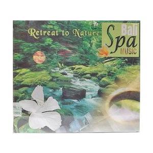 癒しのバリミュージックCD 『Retreat to Nature』 バリ雑貨 アジアン雑貨 スパCD angkasa