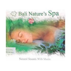 癒しのバリミュージックCD 『Bali Nature's Spa』 バリ雑貨 アジアン雑貨 スパCD angkasa