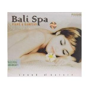 癒しのバリミュージックCD 『Bali Spa PIANO&GAMELAN』 バリ雑貨 アジアン雑貨 スパCD angkasa