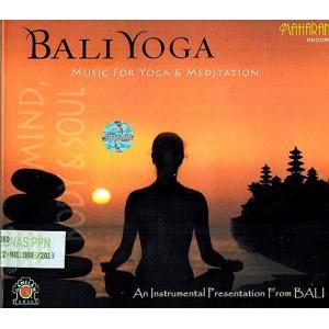 癒しのバリミュージックCD 『BALI YOGA』 バリ雑貨 アジアン雑貨 スパCD angkasa