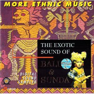 癒しのバリミュージックCD 『The Exotic Sound of Bali & Sunda』part1 バリ雑貨 アジアン雑貨 スパCD angkasa