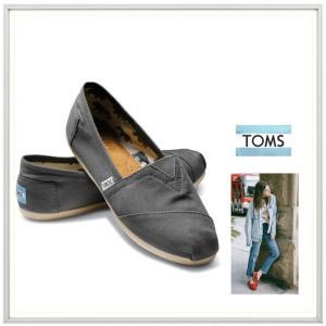 TOMS トムス Classics キャンバス クラシック・エスパドリュー color: ASH CANVAS (グレー)|angland