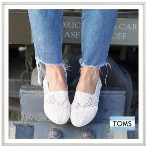 TOMS トムス LADY'S Classics かぎ針レース エスパドリュー color(NATURAL MOROCCAN CROCHET )オフホワイト|angland|03