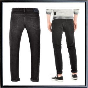 SCOTCH&SODA (Tye) テーパードフィット カラーパンツ color:BLACK(ブラック)|angland|03
