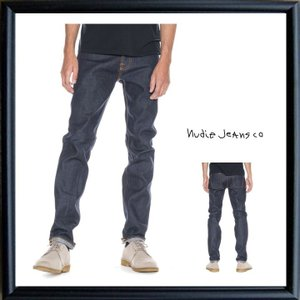 Nudie Jeans(STEADY EDDIE)レギュラーストレートFIT color:652 DRY TWILL NAVY(ドライ・インディゴ)|angland