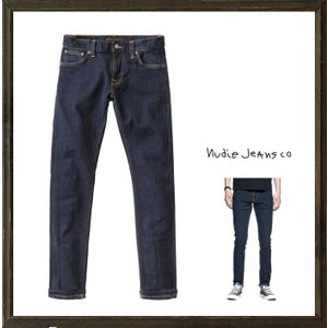 Nudie Jeans(Tight Terry) ストレッチ・デニム color:RINSE(インディゴブルー)|angland