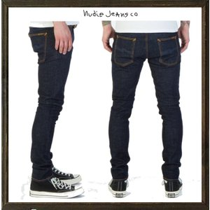 Nudie Jeans(Tight Terry) ストレッチ・デニム color:RINSE(インディゴブルー)|angland|02