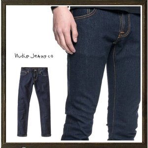 Nudie Jeans(Tight Terry) ストレッチ・デニム color:RINSE(インディゴブルー)|angland|04