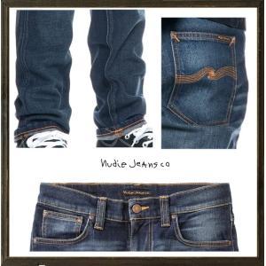 Nudie Jeans(ヌーディ-ジーンズ)LEAN DEAN タイトフィット デニム レングスL32 color:814 TRUE HUSTLE インディゴ|angland|03