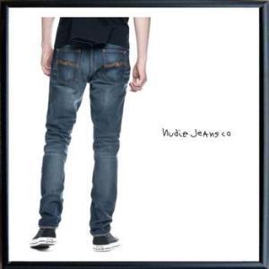 Nudie Jeans(ヌーディ-ジーンズ)LEAN DEAN タイトフィット デニム レングスL32 color:814 TRUE HUSTLE インディゴ|angland|05