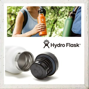 HYDRO FLASK 【 ハイドロ フラスク 】12オンス HYDRATION スタンダードマウス 『 12 oz Standard Mouth 』 color:【 WHITE 】ホワイト|angland|05