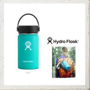 HYDRO FLASK 【 ハイドロ フラスク 】 12オンス HYDRATION ワイドマウス 『12 oz Wide Mouth』 color:27【 MINT 】 ミント|angland