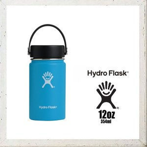 HYDRO FLASK 【 ハイドロ フラスク 】 12オンス HYDRATION ワイドマウス 『12 oz Wide Mouth』 color:03【 Pacific 】 パシフィック|angland
