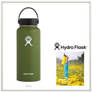 HYDRO FLASK(ハイドロ フラスク)32オンス HYDRATION(32 oz Wide Mouth) color:08 OLIVE(オリーブ)|angland