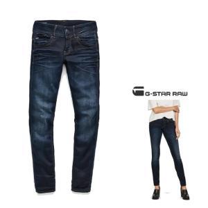 G-STAR RAW(ジースターロウ)Lynn Mid Waist Skinny Jeans SKINNY FIT スキニージーンズ color:Medium Aged(ネイビー)|angland|03
