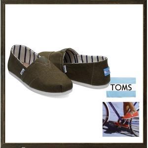 TOMS トムス Classics エスパドリュー color:カーキグリーン angland