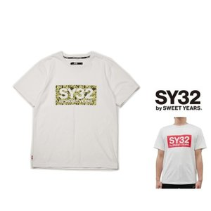 SY32 by SWEET YEARS BIGスクエア ロゴ 半袖Tシャツ COLOR:全4色|angland|05