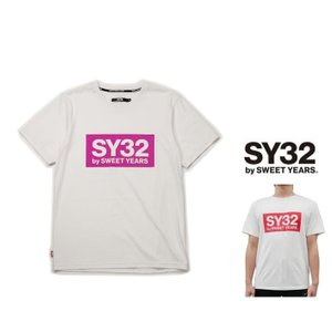 SY32 by SWEET YEARS BIGスクエア ロゴ 半袖Tシャツ COLOR:全4色|angland|07