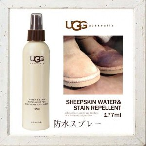 ★UGG Australia【アグ オーストラリア】【STAIN&WATER REPELLENT】Mens & Womens シープスキン SIZE【US:F】ONESIZE 177ml|angland