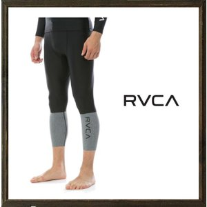 RVCA ルーカ VA SPORT メンズ コンプレッションパンツ color:BLK ブラック|angland