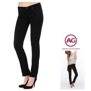 AG Lady's STILT スキニー デニム color:SBA(ブラック)|angland