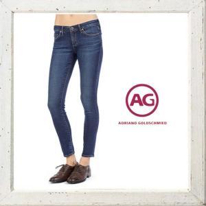 ★AG Lady's【アドリアーノゴールドシュミット】【LEGGING】SUPER SKINNY FIT・デニムパンツ color:D10(ネイビー系色)|angland