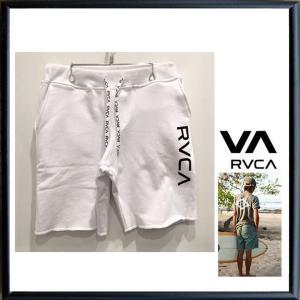 ★RVCA ルーカ ロゴ ショートパンツ color:ANW(ホワイト)|angland