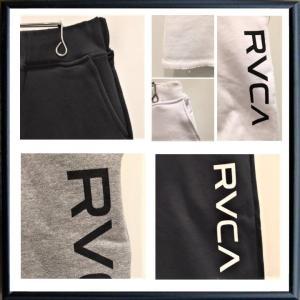★RVCA ルーカ ロゴ ショートパンツ color:ANW(ホワイト)|angland|04