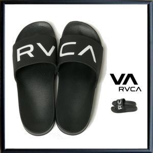 ★RVCA ルーカ シャワーサンダル RVCA SHOWER SANDAL color:BLK(ブラック)・WHT(ホワイト) angland