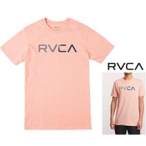 ★RVCA(ルーカ) グラフィックロゴ 半袖Tシャツ color:CRL(コーラル オレンジ)|angland