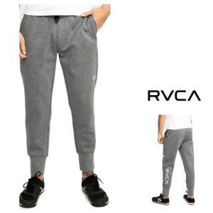 RVCA(ルーカ) ロゴ スウェットパンツ color:HGR(グレー)|angland