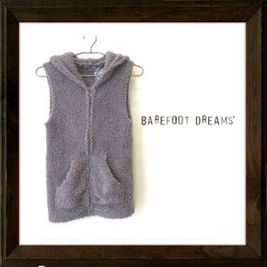 ★Barefoot Dreams  【ベアフット・ドリームス】 【COZY CHIC】SLEEVELESS HOODIE color【Charcoal】グレー|angland