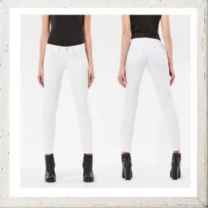 G-STAR RAW ジースターロウ SKINNY FIT ストレッチカラーパンツ color:OPTICAL WHITE(ホワイト) angland 02